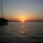 tramonto a rovigno