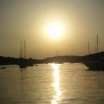 croazia tramonto